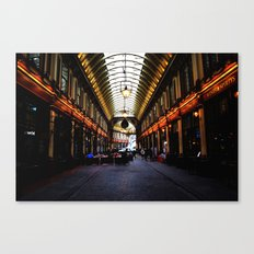 LEADENHALL MARKET, LONDON Canvas Print
