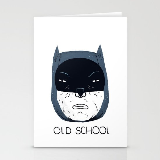 old school Stationery Card
