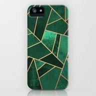 Emerald And Copper iPhone (5, 5s) Slim Case