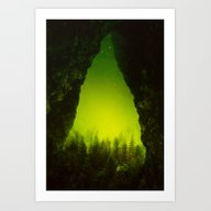 Art Print featuring Toxic Forestry by Stoian Hitrov - Sto