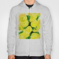Yellow Flowers II Hoody
