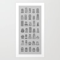 Salt & Pepper Art Print