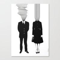 Neuro V1V2 Canvas Print