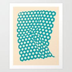 Raised In Reef 1 Art Print