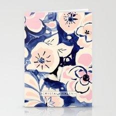Midnight Moonflower Stationery Cards
