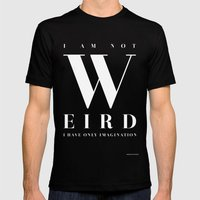 Weird Mens Fitted Tee Black SMALL
