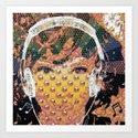 DJ Ambie Art Print