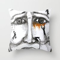 friends in need  Throw Pillow