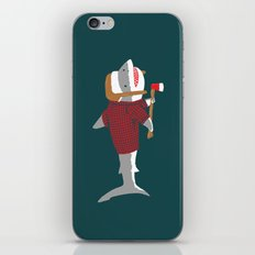 Shark LumberJack iPhone & iPod Skin
