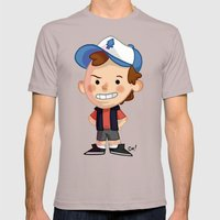 DIPPER! Mens Fitted Tee Cinder SMALL