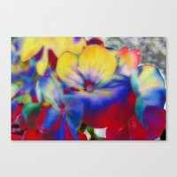 Abstract Flowes 01 Canvas Print