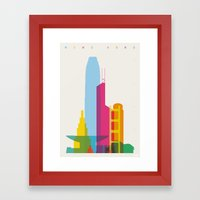 Shapes Of Hong Kong. Acc… Framed Art Print