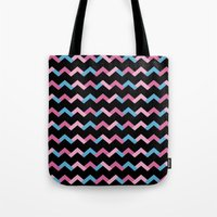Geometric Chevron Tote Bag