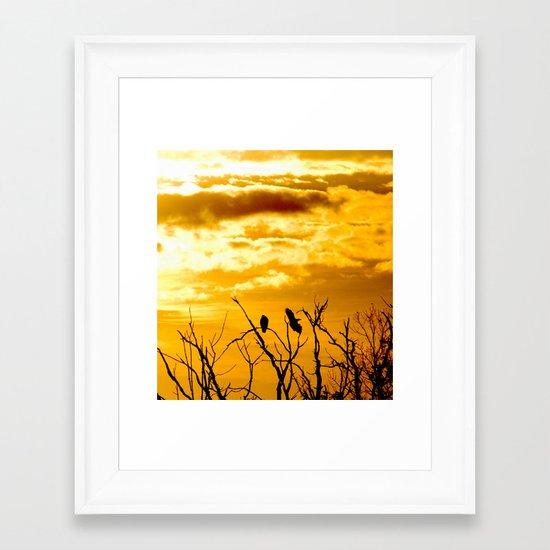 Takeoffs and Landings Framed Art Print