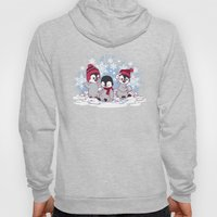 Snow Penguins Hoody