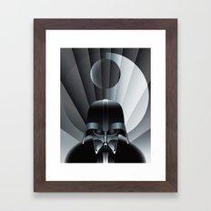 Deco Vader (design size 11x14) Framed Art Print