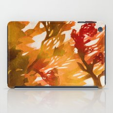 Morning Blossoms 2 - Red Variation iPad Case