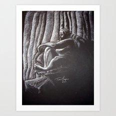 Woman 4 Art Print