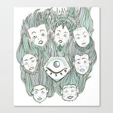 Blind Vision Canvas Print