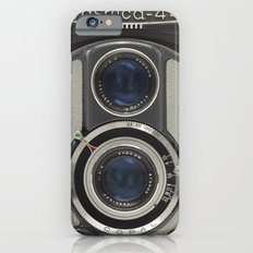 Vintage Camera (Yashica 44) Slim Case iPhone 6s