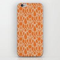 Lluvia Naranja iPhone & iPod Skin