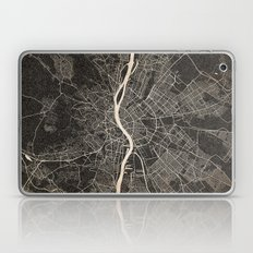 budapest map ink lines Laptop & iPad Skin