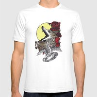 Grimm Mens Fitted Tee White SMALL