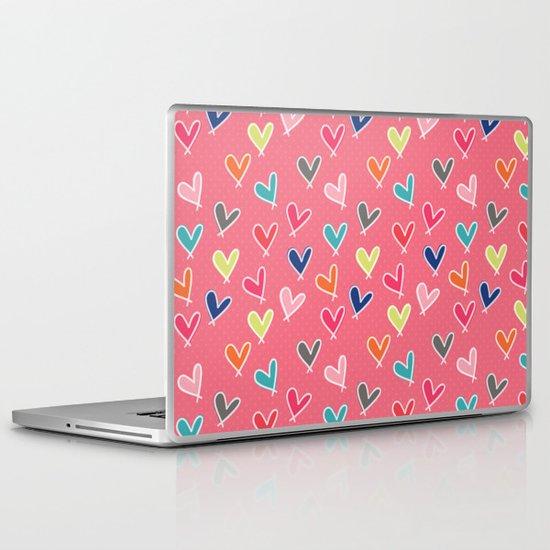 Blow Me One Last Kiss - Pink Laptop & iPad Skin