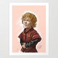 Tyrion Lanister Art Print
