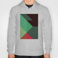 Green & Red Triangles Hoody