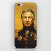 Alan Rickman - Replacefa… iPhone & iPod Skin