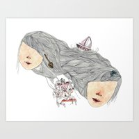 crazy for you (but not that crazy) Art Print