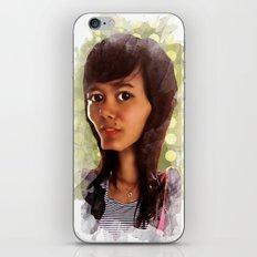 girl iPhone & iPod Skin