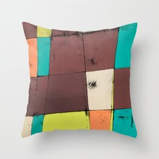 Hot Air Balloon II Throw Pillow