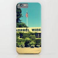 iPhone & iPod Case featuring Korbel Winery by AuFish92024