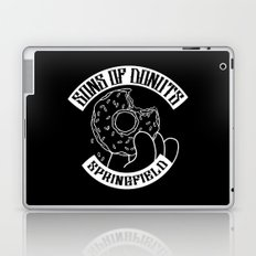Sons Of Donuts / Simpsons / Donuts (BW version) Laptop & iPad Skin