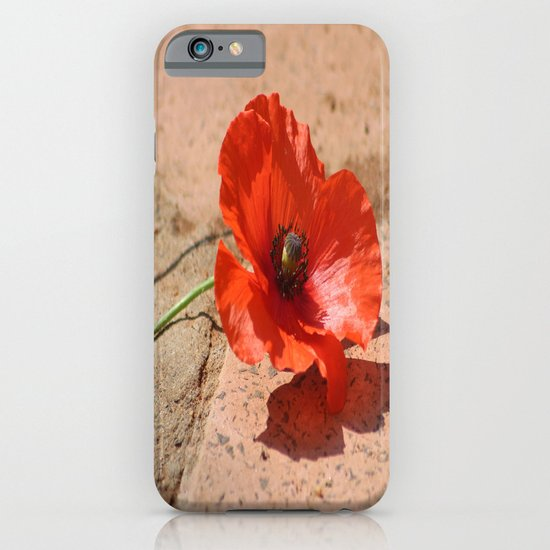 Red Blossom iPhone & iPod Case