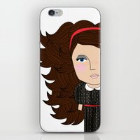 Mss Freckles iPhone & iPod Skin