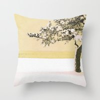 A Winter Moment Throw Pillow