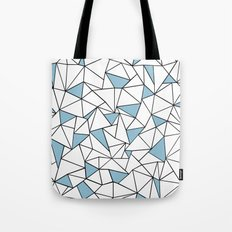 Ab Out Blue Blocks Tote Bag