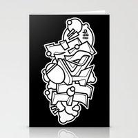 Graffiti - HIGH Stationery Cards
