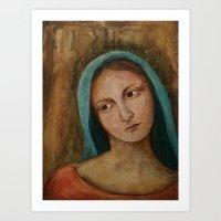 Elisabeth Portrait Paint… Art Print