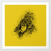 Hairstyle Of The Rich An… Art Print