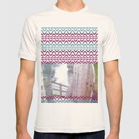 AZTEC 'Door Into Summer'_1-2 Mens Fitted Tee Natural SMALL