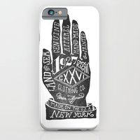 iPhone & iPod Case featuring Hand by Jon Contino