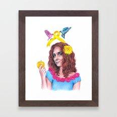 Snow White II | Endometr… Framed Art Print