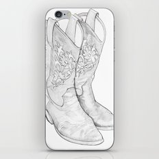 Cowboy Boots iPhone & iPod Skin
