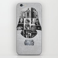 A New Hope COLLAGE Varia… iPhone & iPod Skin