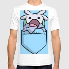 Pokemon: GOOMY Mens Fitted Tee SMALL White