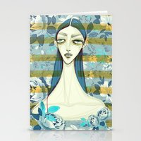 Flowerella 2 Stationery Cards